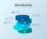 Business Info graphic Design - 134560963