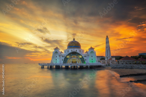Poster Malacca Straits Mosque
