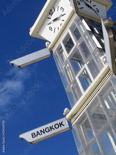 Poster Torre di controllo a Bangkok