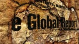 Global report grunge concept
