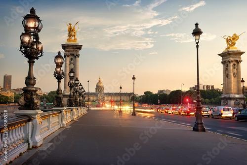 Poster Alexander III bridge