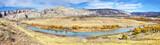 Dinosaur National Monument panoramic autumn landscape, Utah, USA