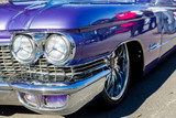 Purple Caddy Fender