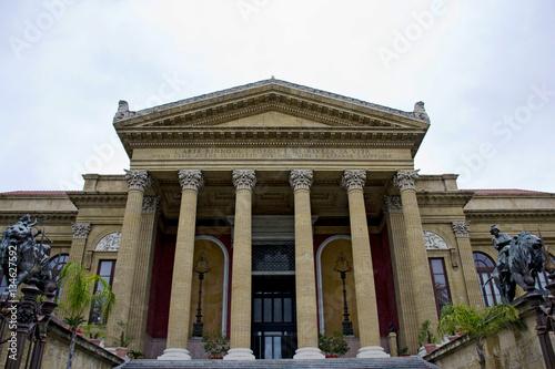 Maestoso Teatro Massimo di Palermo, Sicilia