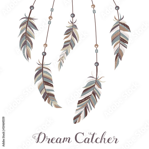 drawn-feathers-decorated-with-beads-on-strings