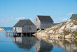 Boat Houses at Peggy's Cove, Halifax, Nova Scotia, Canada