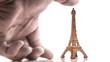 Eiffel Tower Figurine wth Hand Color