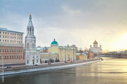 Poster Софийская набережная. Москва