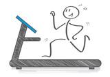 Ausdauertraining auf dem Laufband