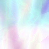 Fototapety Abstract blurred holographic background in light colors
