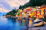 Town of Menaggio on sunset, Lake Como, Milan, Italy - 134710501