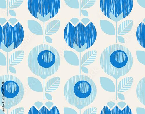 motif-retro-geometrique-sans-couture-avec-des-fleurs