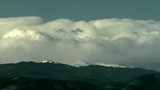 Waterfall of Clouds in Rocky Mountain Downslope Winds