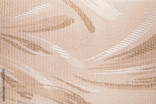 Fabric blind curtain texture background
