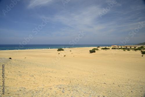 Poster mare e dune di piscinas