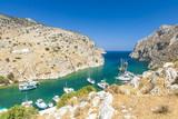 Fjord auf Kalymnos, Griechenland