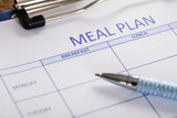 Pen With Meal Plan Form