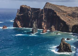 Steilkueste in Madeira