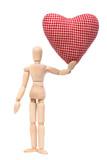 Манекен с сердцем \ Mannequin with heart