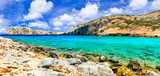 Beautiful crystal beaches of Greece - Kounoupa in Astypalea island