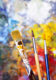 Oil Painting Brushes - 134895993