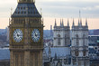 Big Ben sous le soleil en gros plan, Londres