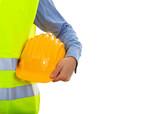 Man wearing safety equipment - 134905958
