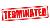 Terminated sign or stamp