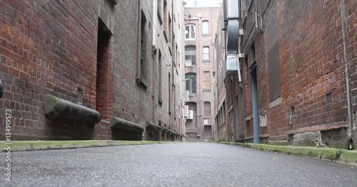 City lane way