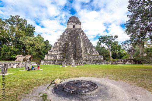 Poster Tikal, Guatemala