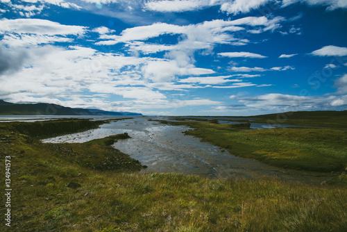 Poster Icelandic landscape