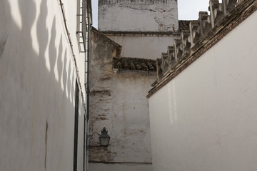 views of the historic center of Cordoba, Spain.
