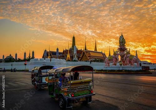 Tuk tuk  in Bangkok Poster