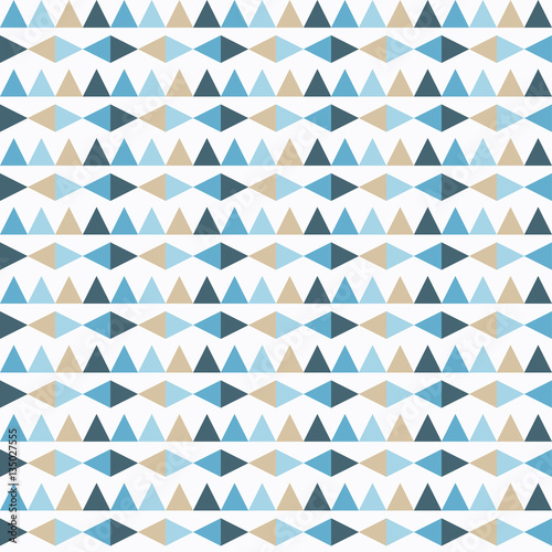 Ethnic boho seamless pattern. Print. Repeating background. Cloth design, wallpaper. - 135027555