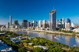 Panoramic areal image of Brisbane