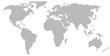 Weltkarte aus Linien