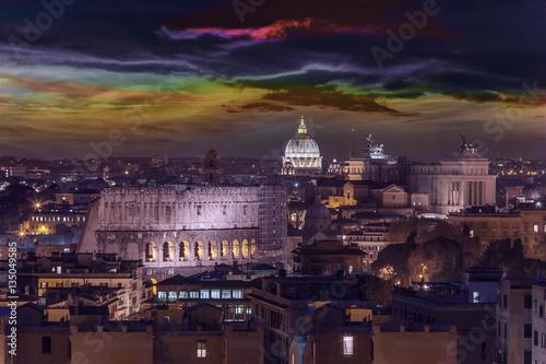 Landscape on Rome