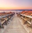 am Ostseestrand - Küste im Sonnenuntergang