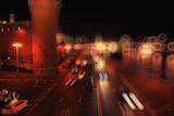 night cityscape Russia