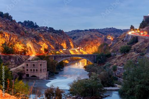 Toledo. Old water mill. © pillerss