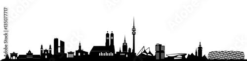 Skyline München - 135077717