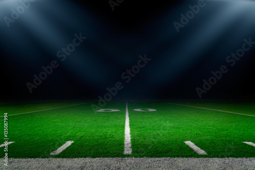 American football stadium background