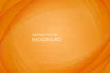 Fototapety Vector abstract orange background