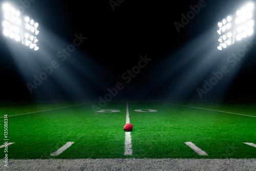 American football stadium background