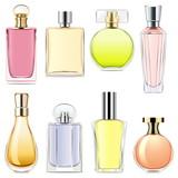 Vector Perfume Icons - 135090107