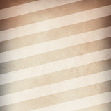 Fototapety old brown paper background with vintage distressed texture and gray vignette border with white diagonal stripe pattern