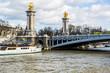 Bridge on Seine river