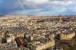 Les Invalides landscape with rainbow