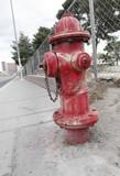 Red Fire Hydrant - Las Vegas - Nevada