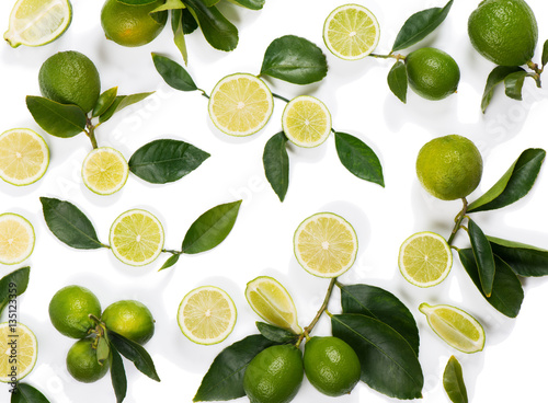 wzor-wykonany-z-owocow-limonki